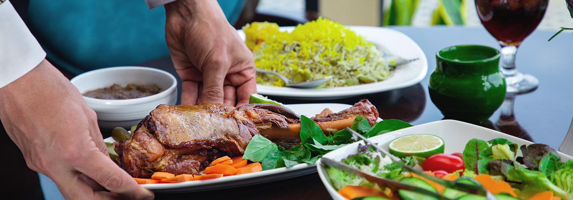 باقالی پلو با ماهیچه | Baghali Polo with Sheep Muscle Meat