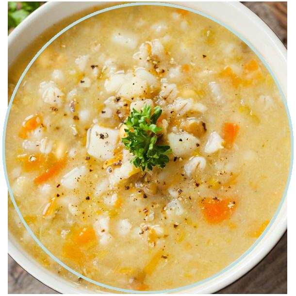 سوپ جو barley soup