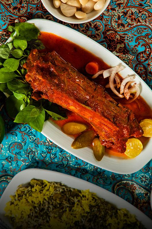 باقالی پلو با گوشت گردن | Baghali Polo with Sheep Neck Meat