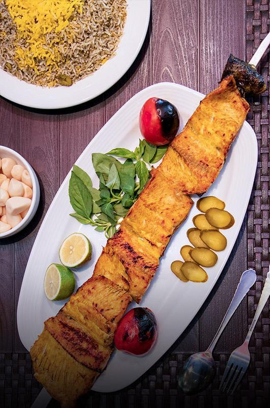 ماهی کبابی | Grilled Salmon