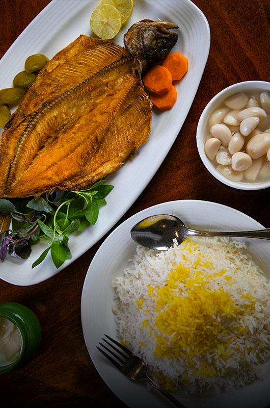 ماهی سرخ شده | Fried Salmon