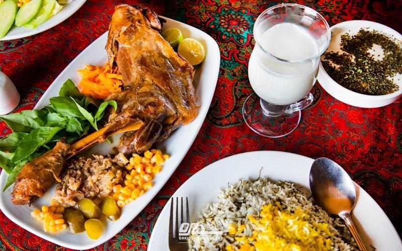 بهترین باقالی پلو با ماهیچه تهران