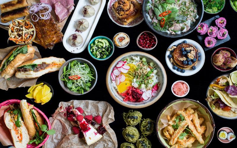 غذاهای متنوع