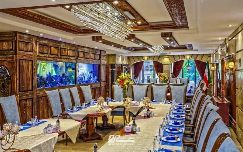 بهترین رستوران تهران برای جلسه کاری