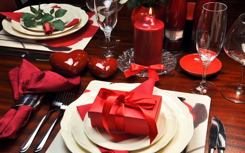 رزور میز برای ولنتاین
