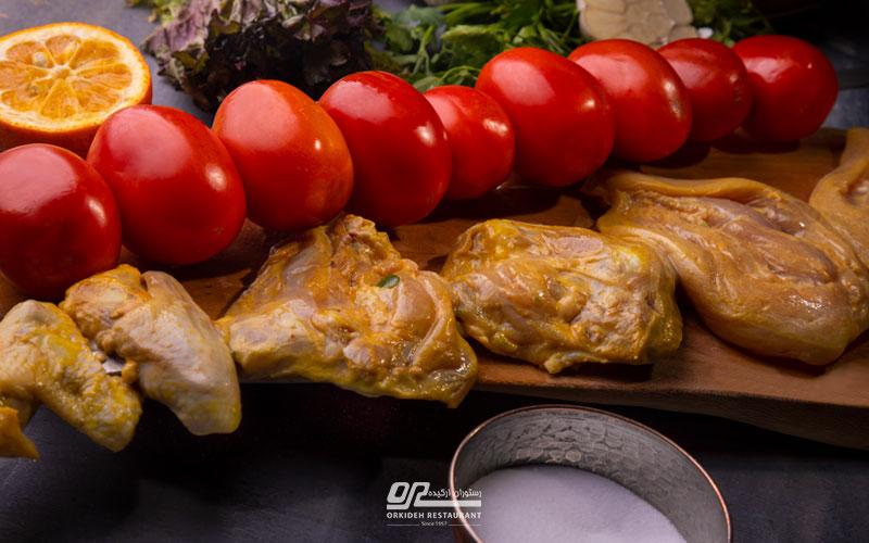 سفارش غذا در محدوده ونک و آرژانتین