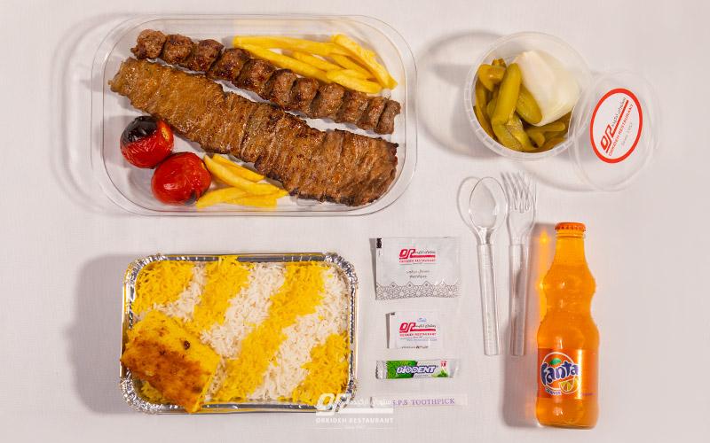غذای بیرون بر از کاشانک