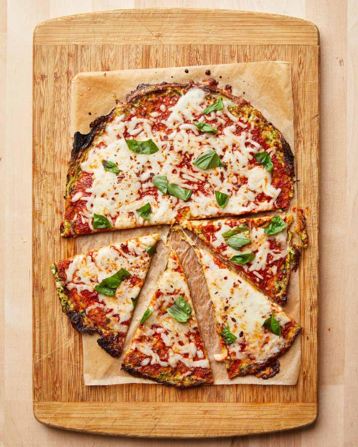 طرز تهیه پیتزا با کدو سبز