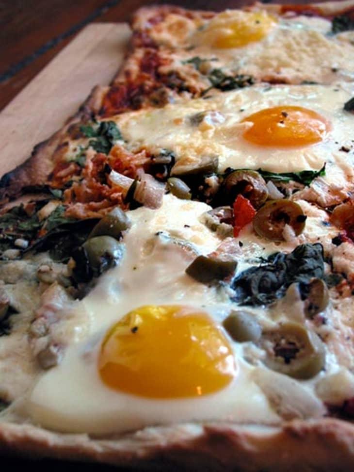 پیتزا برای صبحانه