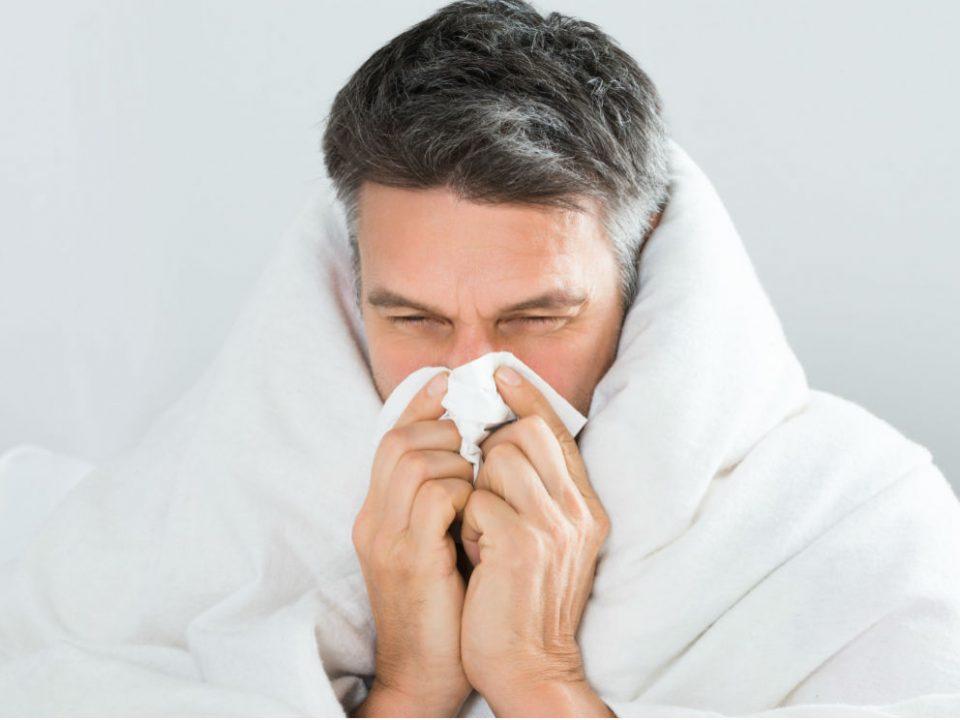 از پا در آوردن سرماخوردگی