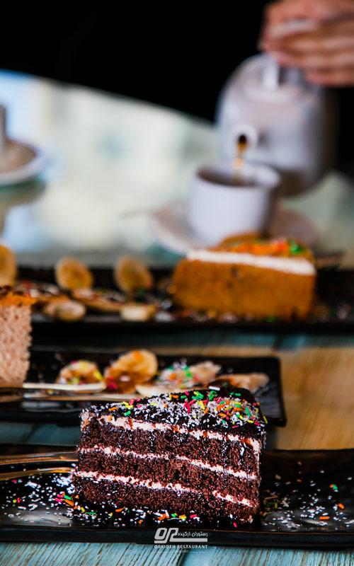 دستور تهیه کیک شکلاتی
