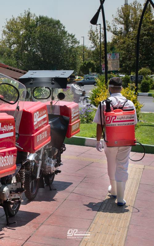 سفارش غذا از میدان صنعت با ارسال رایگان