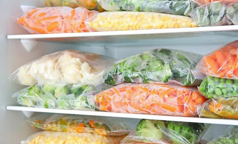نحوه فریز کردن سبزیجات