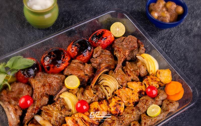 دلیوری (بیرونبر) غذا در محدوده امیرآباد