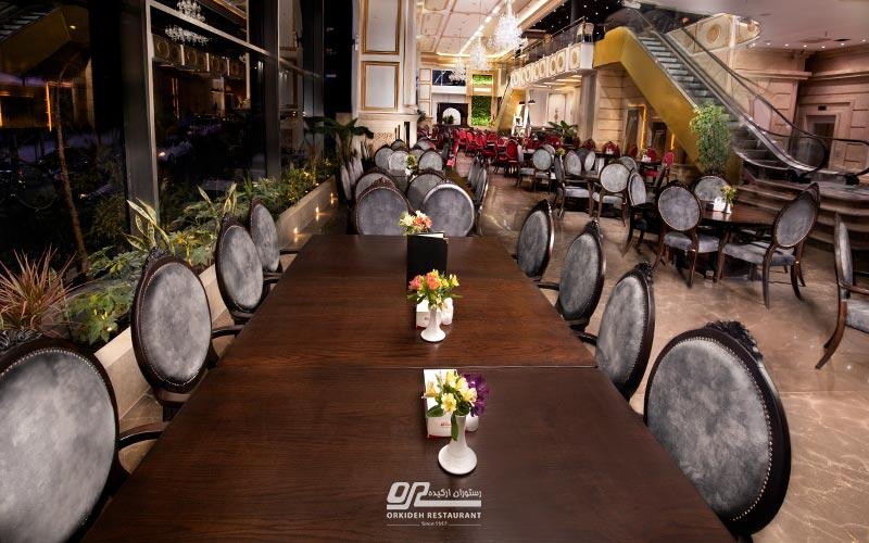 بهترین رستوران در غرب تهران