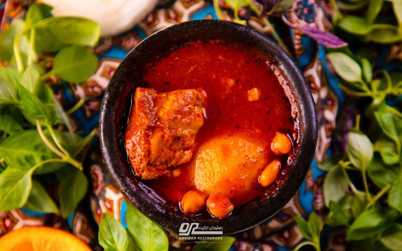 رستوران برای دیزی در جاده چالوس