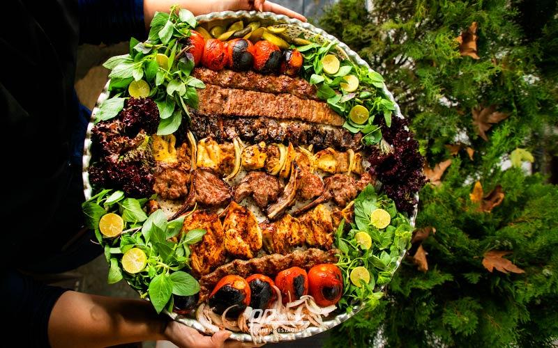 لوکسترین رستوران تهران