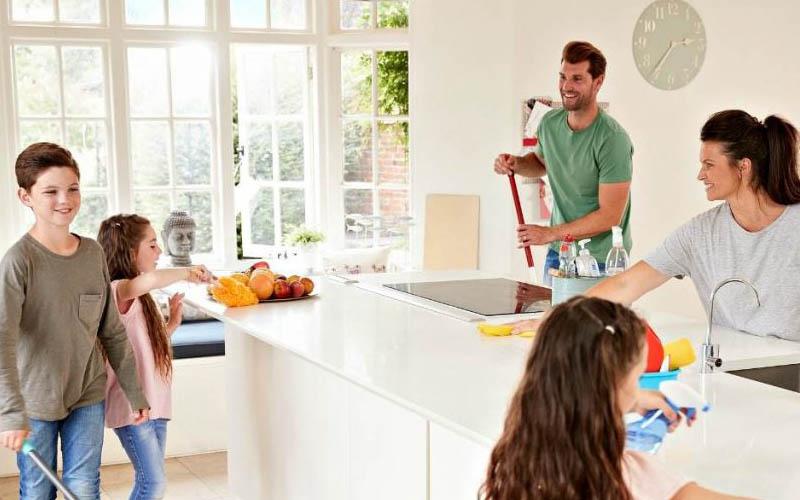 چطور آشپزخانه را خانه تکانی کنیم