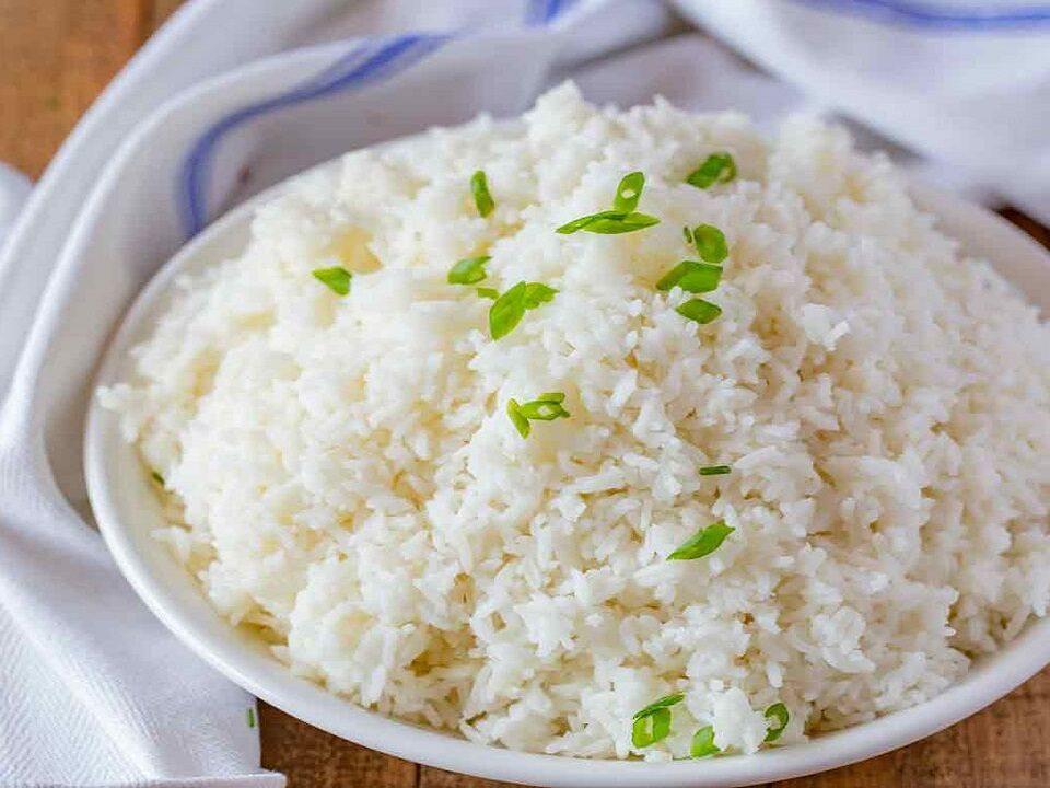 درست کردن برنج کته