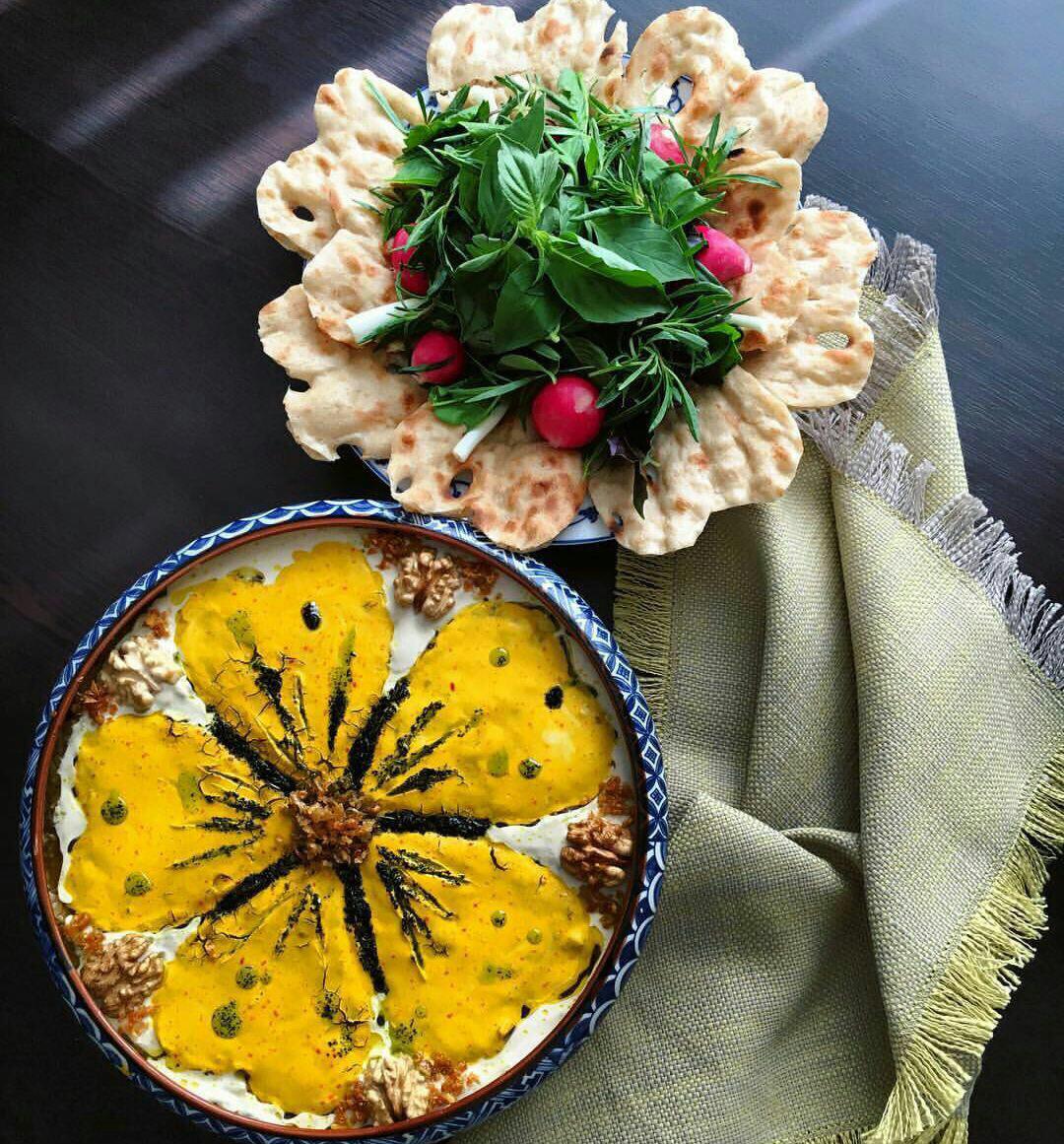 آش شله برای رمضان