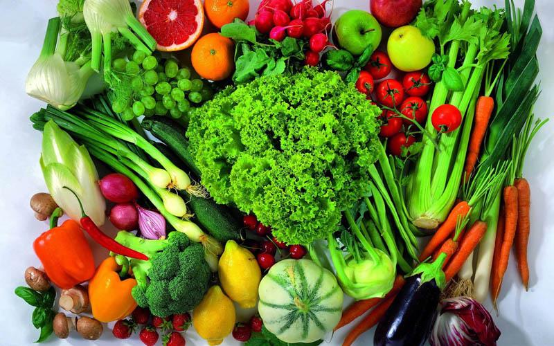 خوردن سبزیجات با غذا